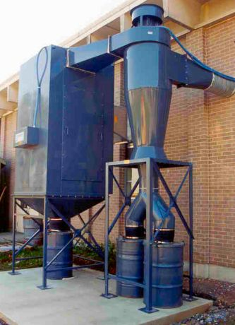Effective Controls Inc School Dust Collection Applications
