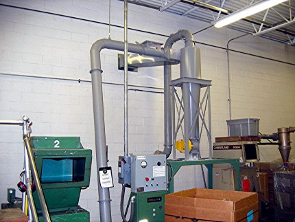 Cyclone Dust Collector for Plastic Dust