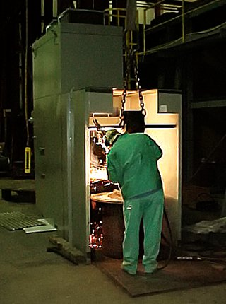 Portable Plasma/Welding Booth