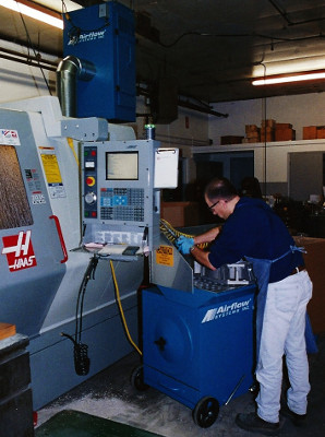 Haas Machining Center