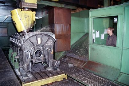 Machining of Cast Iron Parts #2