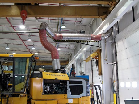 Pivoting Articulating Crane Arm (Diesel Engine Testing Station #1)