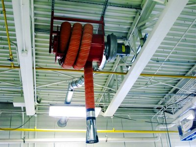 Tag Hose reel (Highway Maintenance Garage # 9)