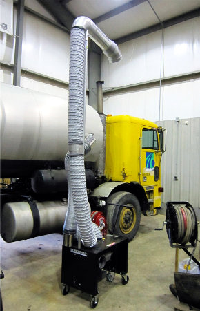 Portable Diesel Exhaust System
